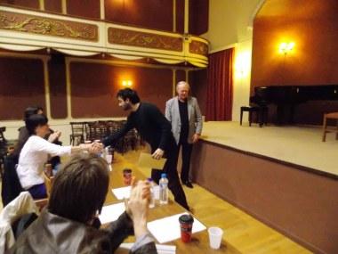 Παναγιώτης Αγοραστός: Α΄ Βραβείο στην Κατηγορία Γ΄      (χωρίς όριο ηλικίας)